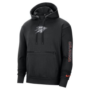 OKC THUNDER CITY EDITION NIKE MENS COURTSIDE HOODIE