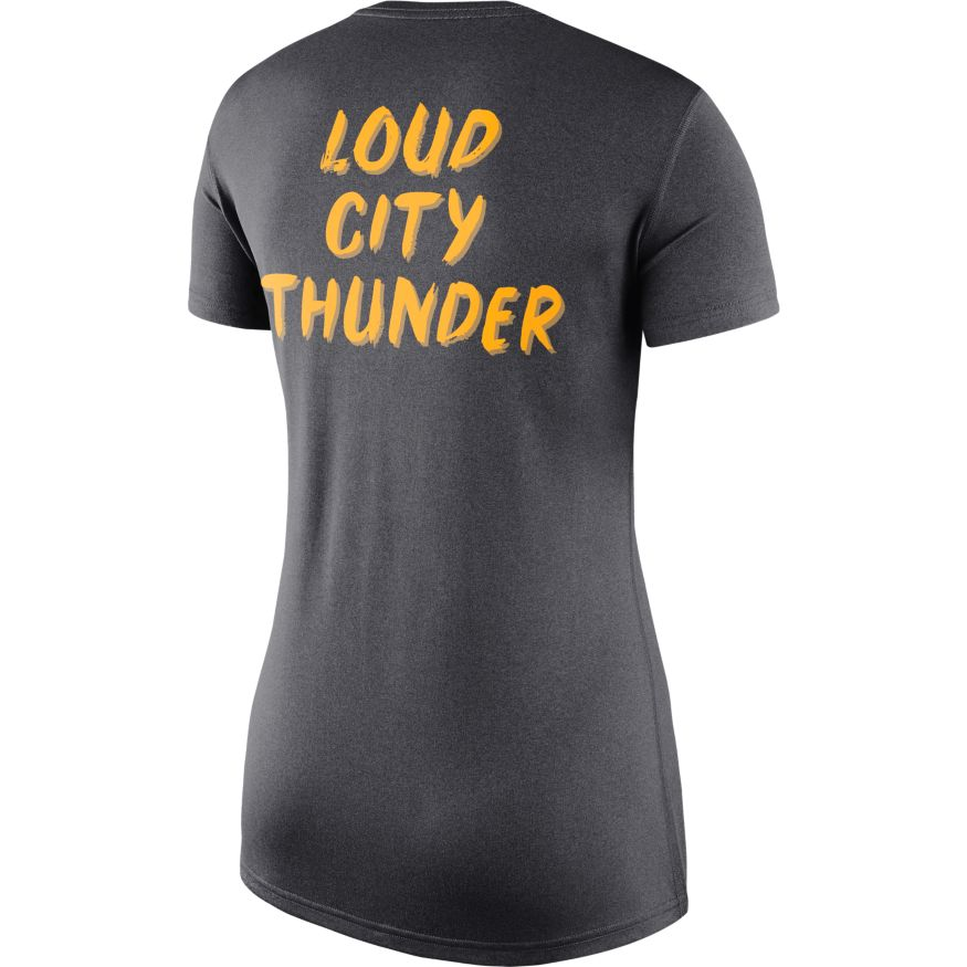 OKLAHOMA CITY THUNDER WOMEN CITY EDITION OUTLINE TEE