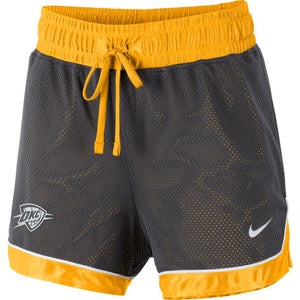OKLAHOMA CITY THUNDER NIKE CITY EDITION WOMENS NBA SHORTS