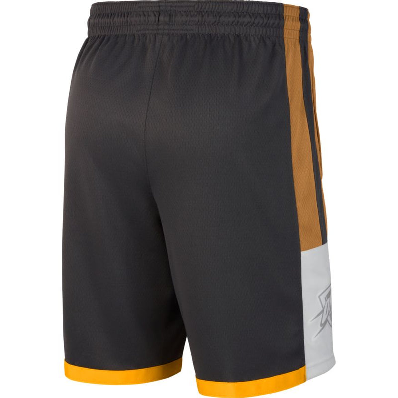 OKLAHOMA CITY THUNDER NIKE CITY EDITION SWINGMAN SHORTS