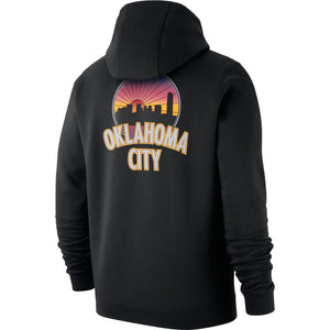 OKLAHOMA CITY THUNDER NIKE THE CITY EDITION FLEECE HOODIE