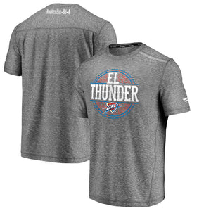 OKLAHOMA CITY THUNDER MENS FANATICS 2020 EL THUNDER SHORT SLEEVE TEE