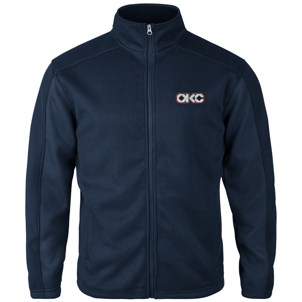 OKC THUNDER GIII CITY EDITION TEXTURED FULL ZIP JACKET