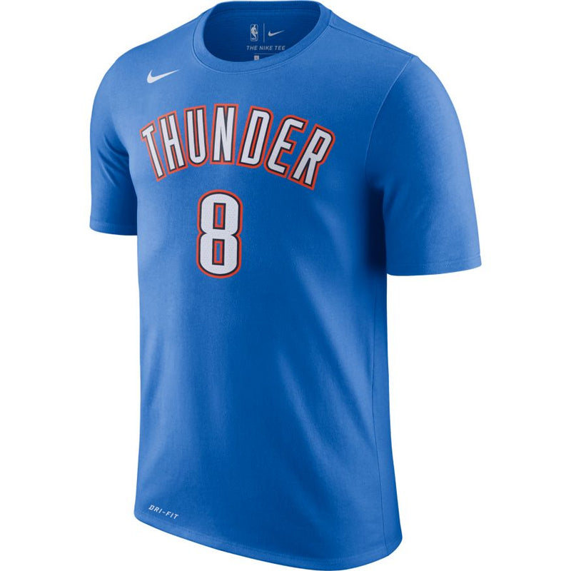 OKLAHOMA CITY THUNDER NIKE ICON EDITION GALLINARI NAME AND NUMBER TEE