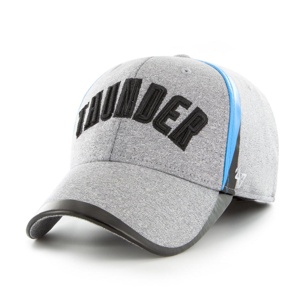 OKLAHOMA CITY THUNDER GRAY ALLOY 47 BRAND CONTENDER HAT