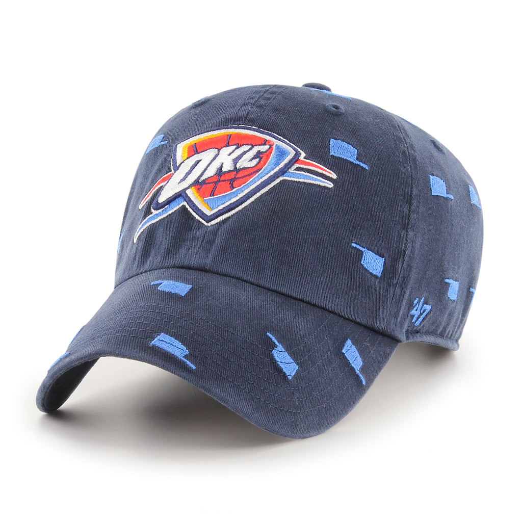 47 BRAND OKLAHOMA CITY THUNDER CONFETTI CLEAN UP HAT