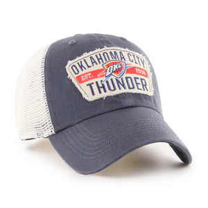 47 BRAND OKLAHOMA CITY THUNDER VINTAGE CRAWFORD 47 CLEAN UP HAT