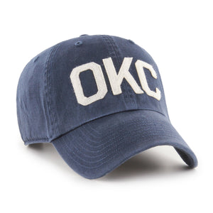 47 BRAND OKLAHOMA CITY THUNDER FINLEY 47 CLEAN UP HAT