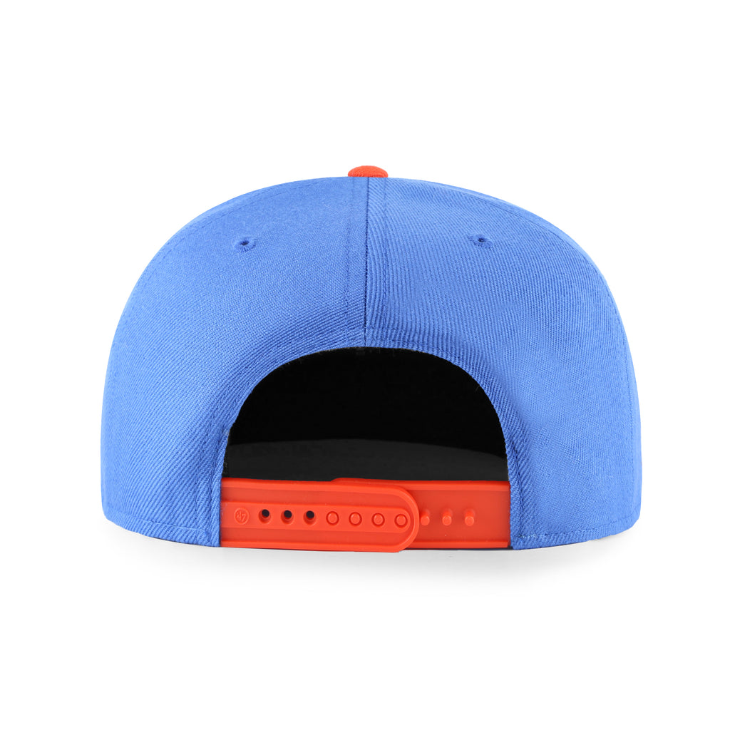OKLAHOMA CITY THUNDER LIL SHOT TWO TONE 47 BRAND CAPTAIN YOUTH SNAPBACK - BLUE