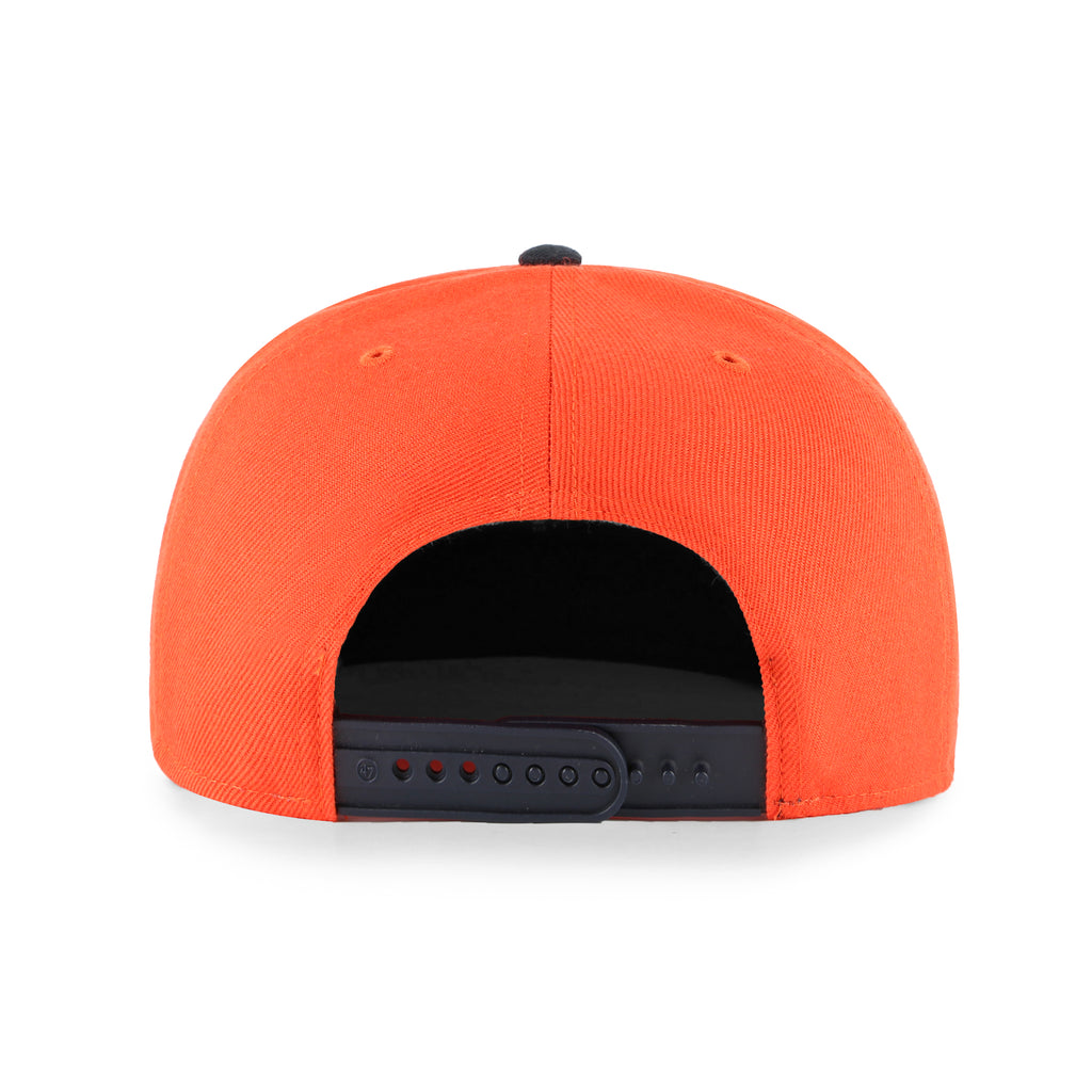OKLAHOMA CITY THUNDER LIL SHOT TWO TONE 47 BRAND CAPTAIN YOUTH SNAPBACK - ORANGE