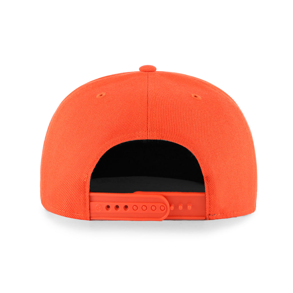 OKLAHOMA CITY THUNDER LIL SHOT 47 BRAND CAPTAIN YOUTH SNAPBACK - ORANGE
