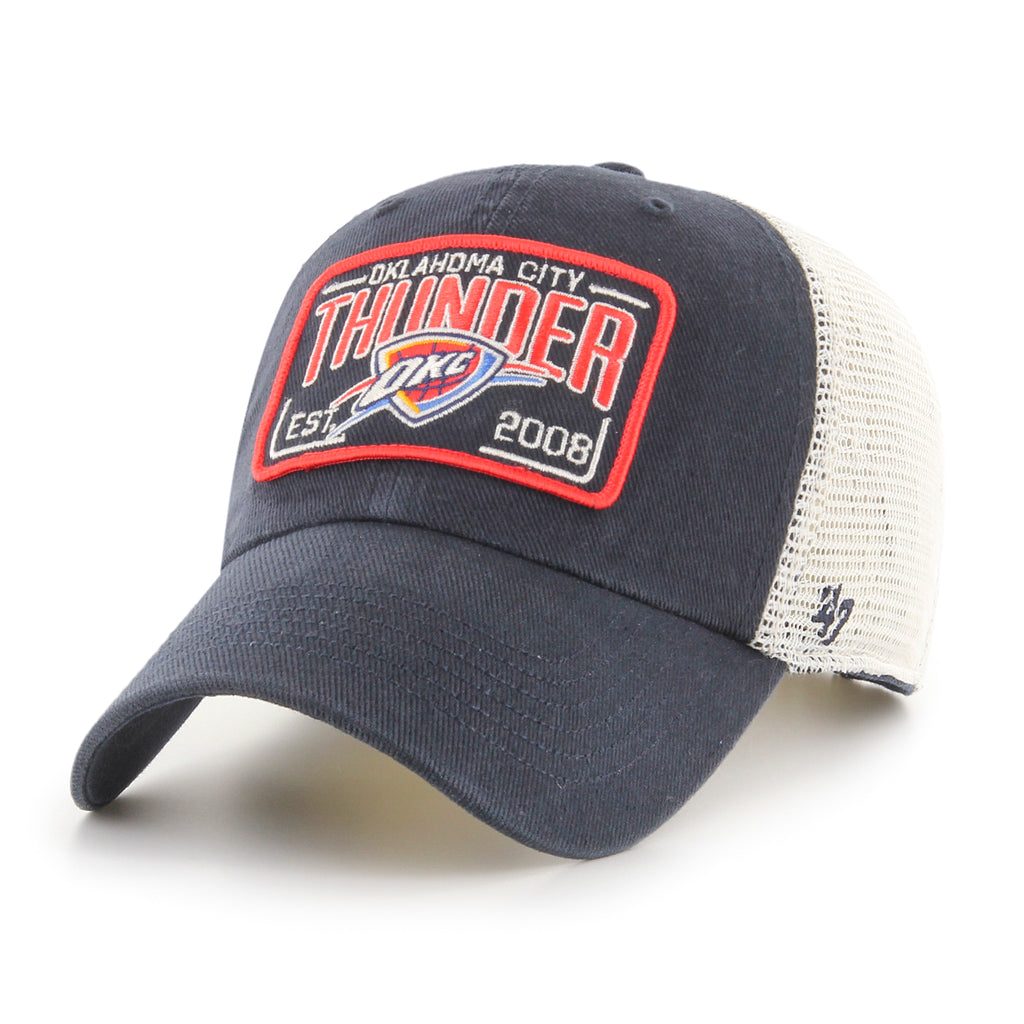 47 BRAND OKLAHOMA CITY THUNDER MACARTHUR 47 CLEAN UP HAT