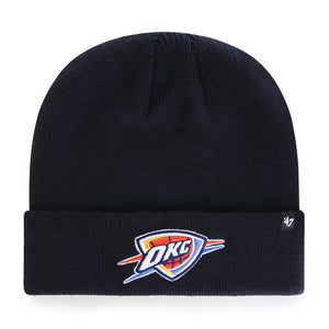 OKLAHOMA CITY THUNDER FOUNDATION KNIT DARK NAVY