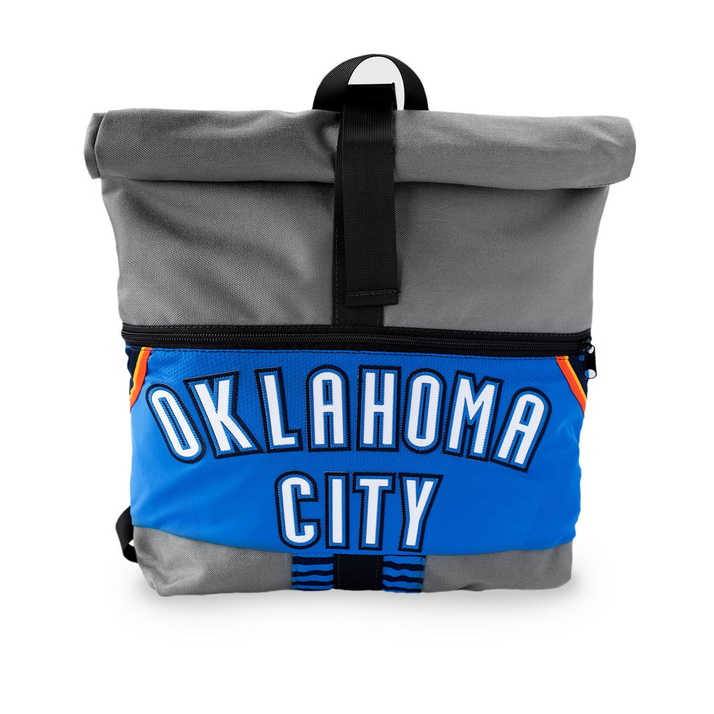OKLAHOMA CITY THUNDER LOOPTWORKS  ROLL TOP BACKPACK - ICON