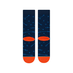 OKLAHOMA CITY THUNDER STANCE 19-20 THUNDER PLAYBOOK SOCK
