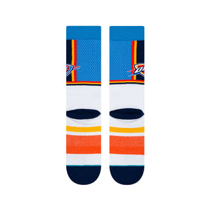OKLAHOMA CITY THUNDER STANCE 19-20 SHORTCUT SOCK