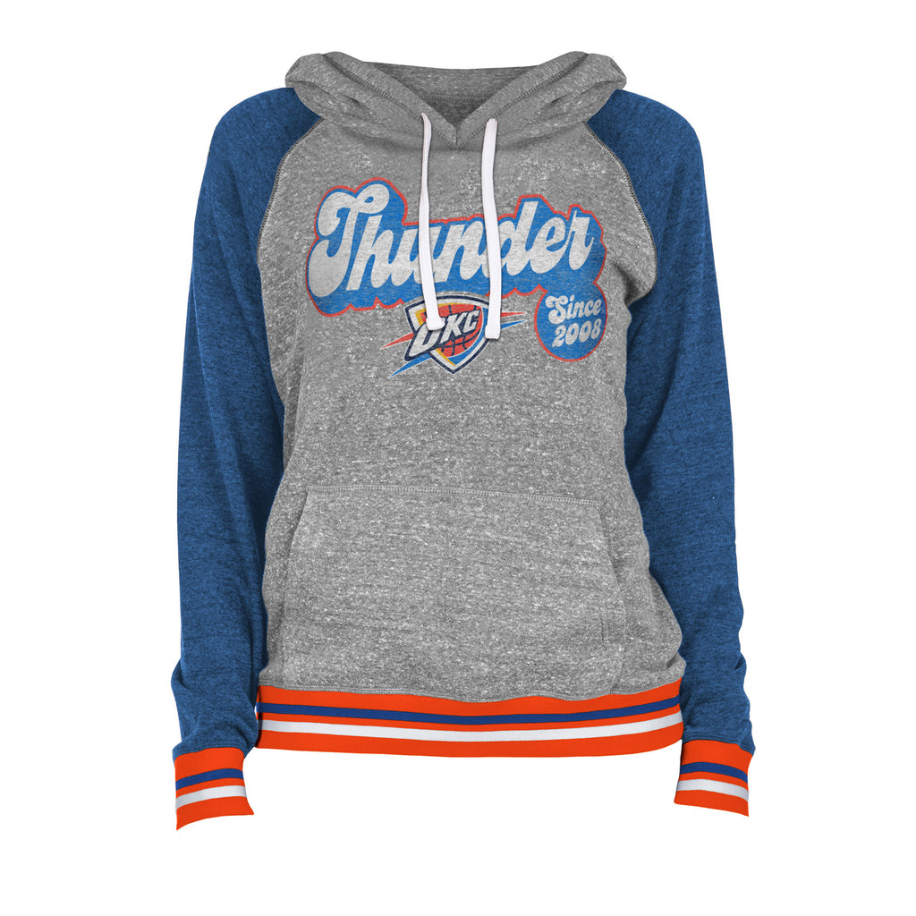 OKC THUNDER NEW ERA WOMEN'S FLEECE HOODIE