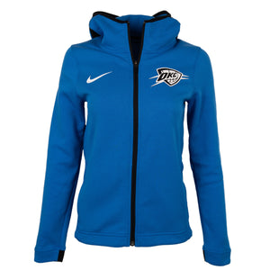 OKLAHOMA CITY THUNDER NIKE WOMEN DRI-FIT SHOWTIME HOODIE
