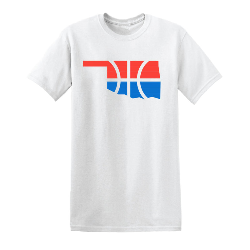OKLAHOMA CITY THUNDER STATE OUTLINE SS TEE