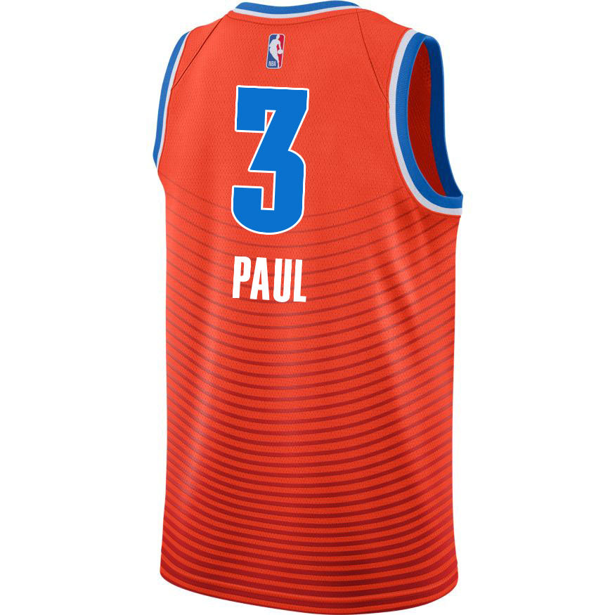 OKLAHOMA CITY THUNDER 2019-20 CHRIS PAUL NIKE AUTHENTIC STATEMENT JERSEY