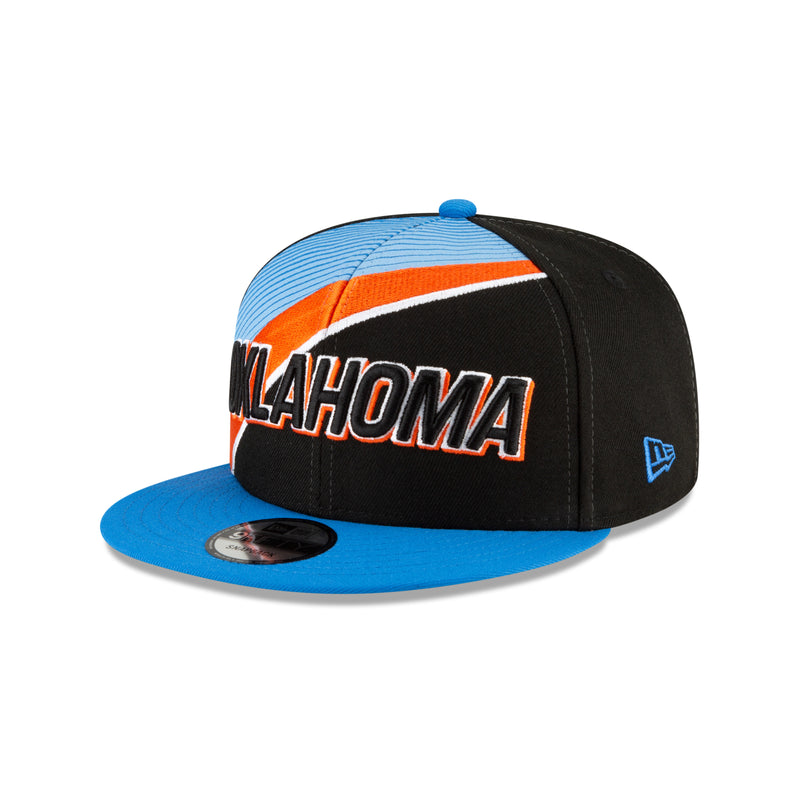 OKC THUNDER NBA 2020-21 CITY EDITION SERIES OFFICIAL 9FIFTY JUNIOR HAT