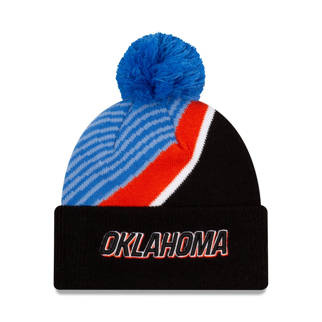 OKC THUNDER NBA 2020-21 CITY EDITION SERIES JUNIOR KNIT