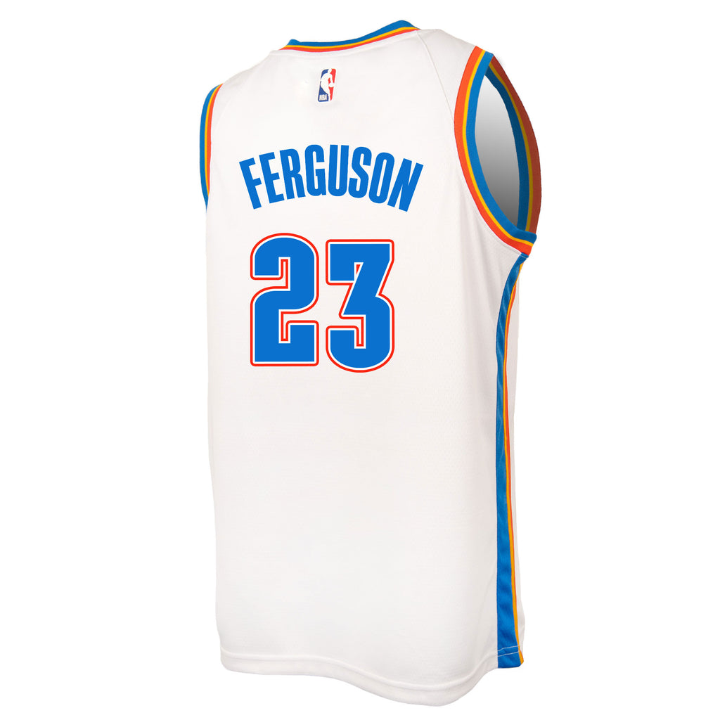 OKLAHOMA CITY THUNDER 2019-20 TERRANCE FERGUSON NIKE ASSOCIATION SWINGMAN JERSEY