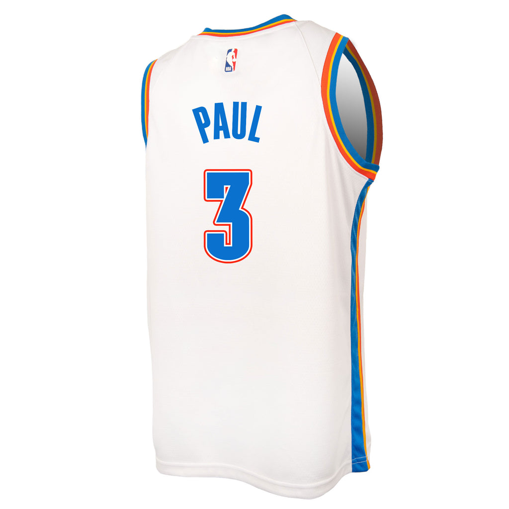 OKLAHOMA CITY THUNDER 2019-20 CHRIS PAUL NIKE ASSOCIATION SWINGMAN JERSEY