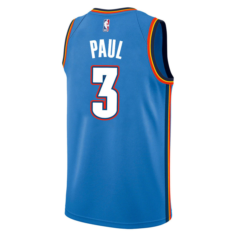OKLAHOMA CITY THUNDER 2019-20 CHRIS PAUL NIKE ICON SWINGMAN JERSEY