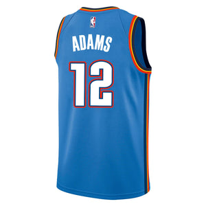 OKLAHOMA CITY THUNDER 2019-20 STEVEN ADAMS NIKE ICON SWINGMAN JERSEY