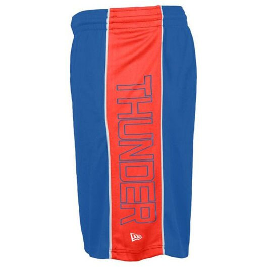OKLAHOMA CITY THUNDER NEW ERA MENS TEAM COLORED SHORTS