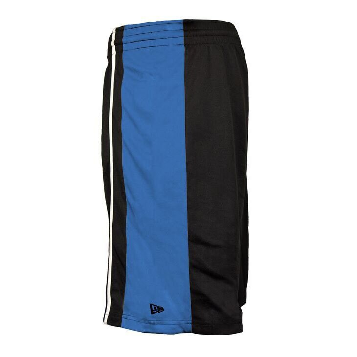 OKLAHOMA CITY THUNDER NEW ERA MENS BLACK SHORTS