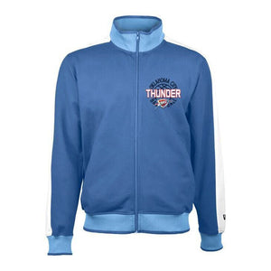 OKLAHOMA CITY THUNDER NEW ERA TRACK JACKET RINGER