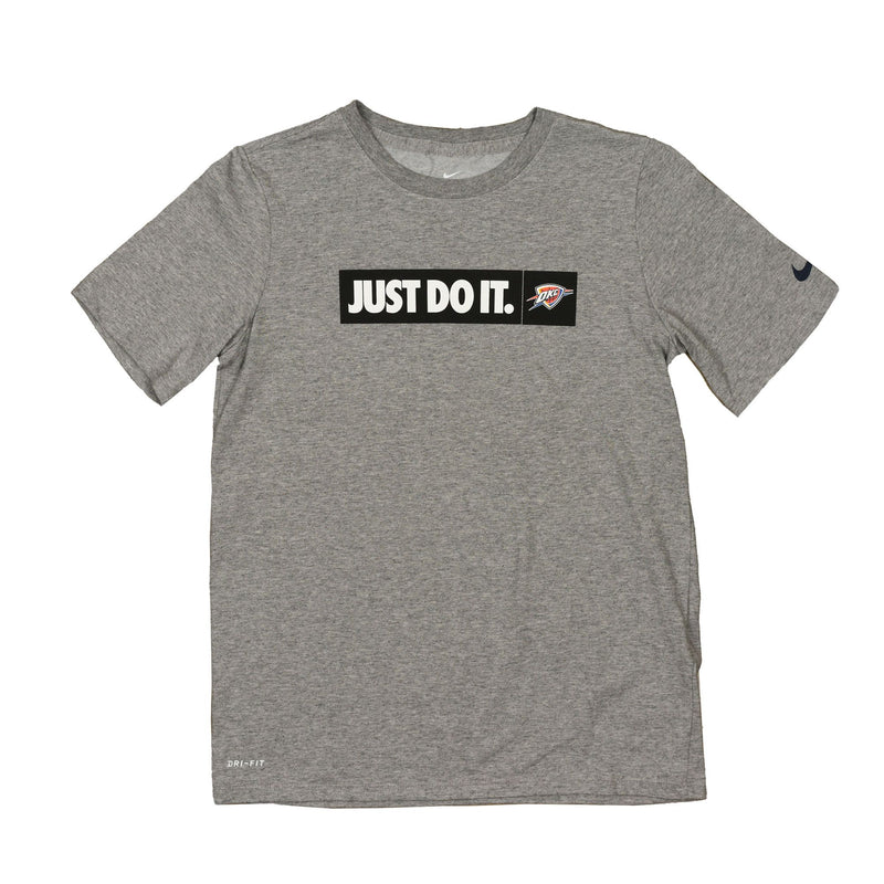 OKLAHOMA CITY THUNDER YOUTH JUST DO IT SHORT SLEEVE TEE