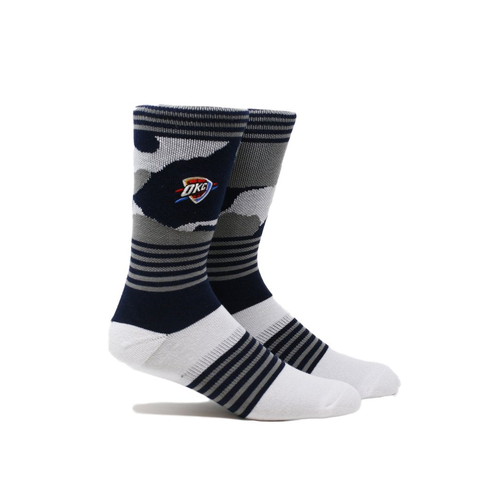 OKLAHOMA CITY THUNDER PKWY COURT 3 PACK SOCKS