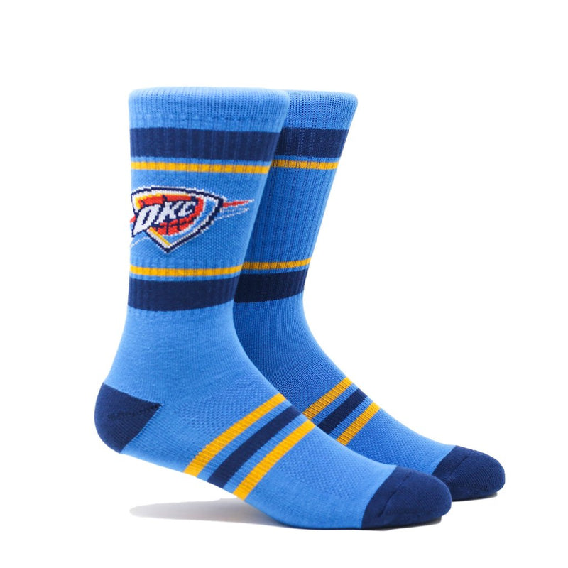 OKLAHOMA CITY THUNDER PKWY THUNDER TEAM 3 PACK SOCKS