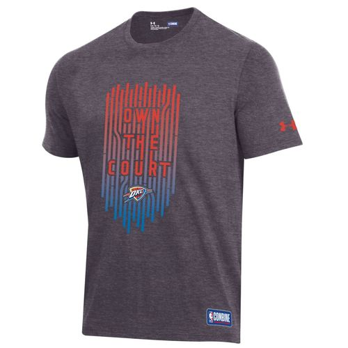 OKLAHOMA CITY THUNDER UNDER ARMOUR OWN THE COURT TEE