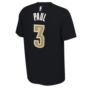 OKLAHOMA CITY THUNDER NIKE EARNED EDITION CHRIS PAUL NAME AND NUMBER TEE