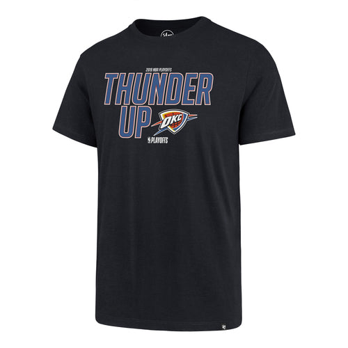 OKLAHOMA CITY THUNDER 2019 PLAYOFF TEE - THUNDER UP
