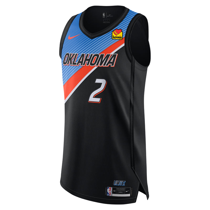 OKC THUNDER SHAI GILGEOUS-ALEXANDER NIKE CITY EDITION 2020-21 AUTHENTIC JERSEY