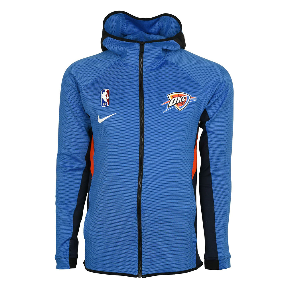 OKC THUNDER NIKE THERMAFLEX SHOWTIME FULL ZIP