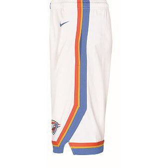 OKC THUNDER NIKE YOUTH ASSOCIATION JERSEY SHORTS