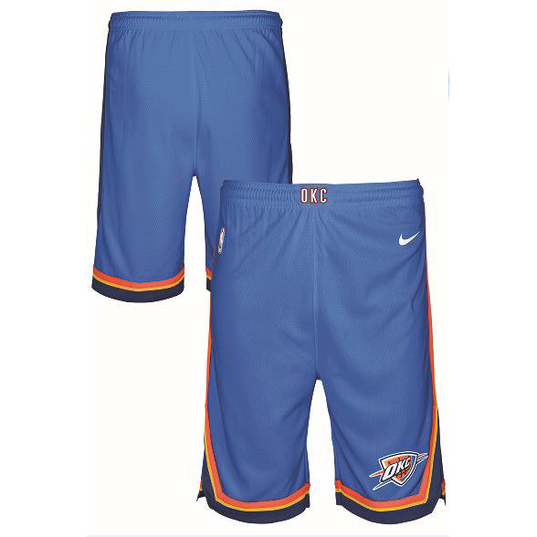 OKC THUNDER NIKE YOUTH ICON JERSEY SHORTS