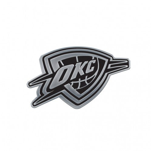 OKLAHOMA CITY THUNDER CHROME AUTO EMBLEM