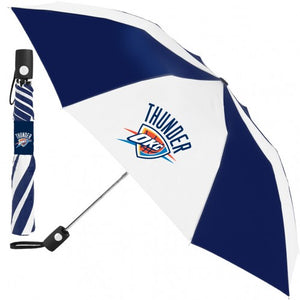 OKLAHOMA CITY THUNDER AUTO FOLDING UMBRELLA