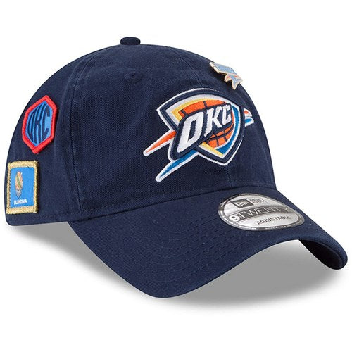 OKLAHOMA CITY THUNDER NEW ERA 920 DRAFT CAP 2018