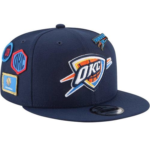 OKLAHOMA CITY THUNDER NEW ERA 950 DRAFT CAP 2018