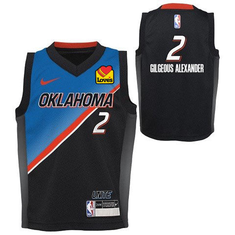 NIKE SHAI GILGEOUS-ALEXANDER INFANT CITY EDITION 2020-21 JERSEY