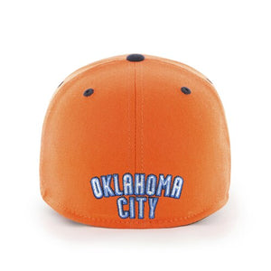 OKLAHOMA CITY THUNDER 47 BRAND SUNSET CONTENDER HAT