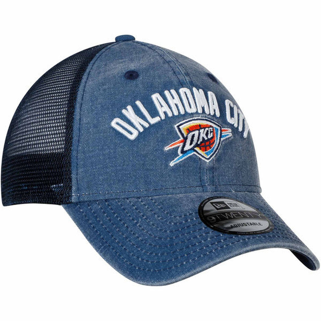 OKLAHOMA CITY THUNDER 47 BRAND MESH BACK DENIM BLUE HAT